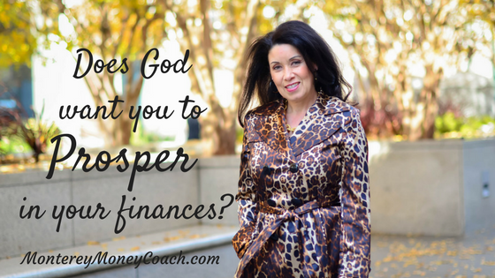 Does God want you to prosper in your finances?