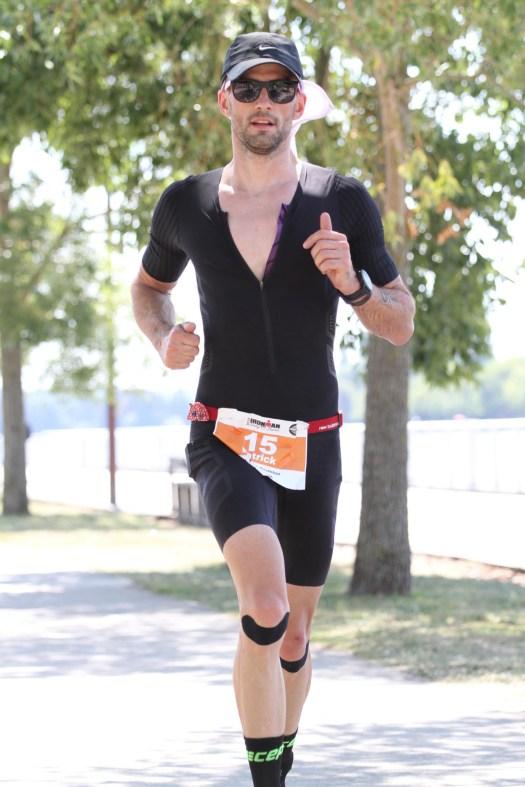 Ironman Vichy Laufenstrecke