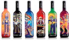 Sean Wells created the six images for the wine label, La Catrina Vino. agomez@abqjournal.com Tue Aug 11 09:22:32 -0600 2015 1439306548 FILENAME: 197068.jpeg