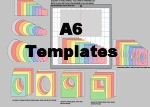 A6 card templates 32.301 wide