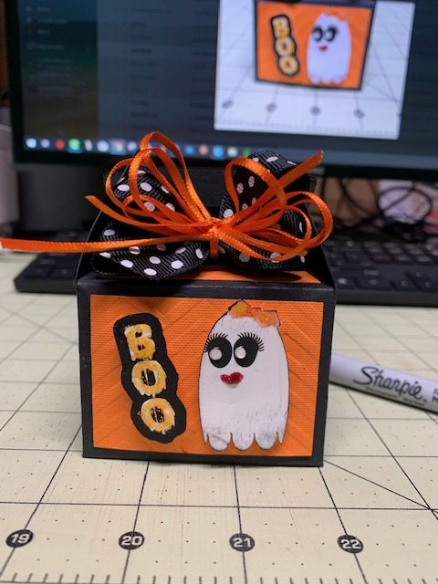 PattyAnne's Halloween Gable Box