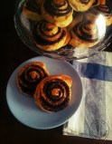 Chocolate & hazelnuts rolls