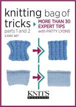 Knitting Bag of Tricks - DVD Cover