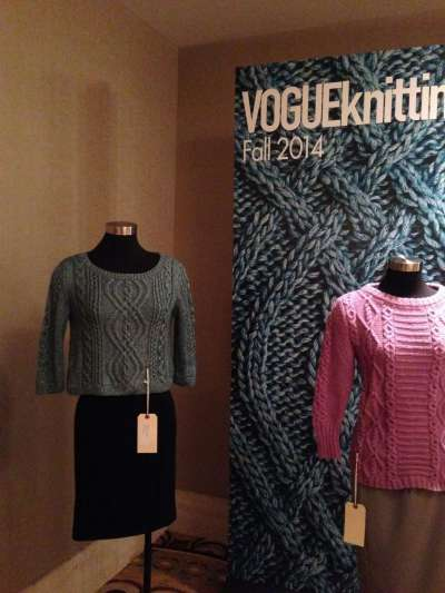 Vogue Knitting Sweater - p.lyons