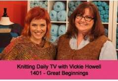 Knitting Daily TV Episode 1401
