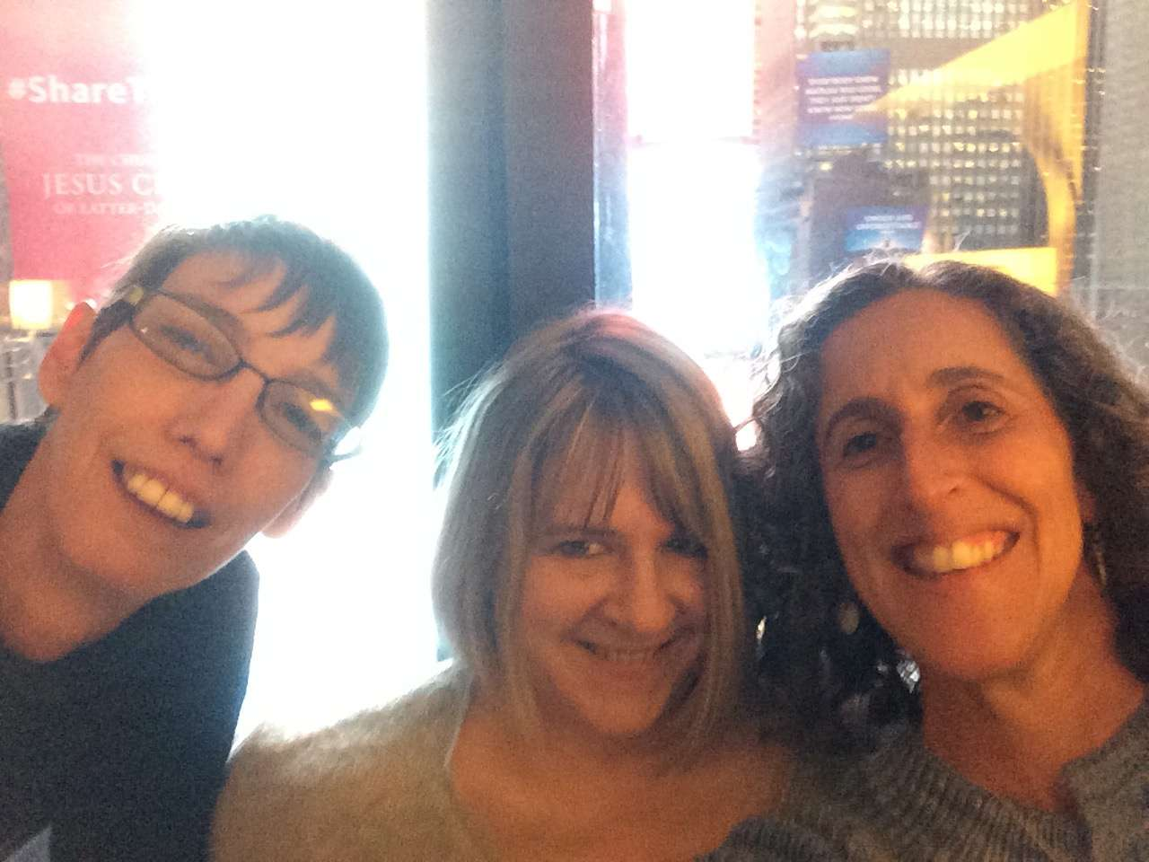 My annual selfie with my pals Brooke Nico and Carol Sulcoski