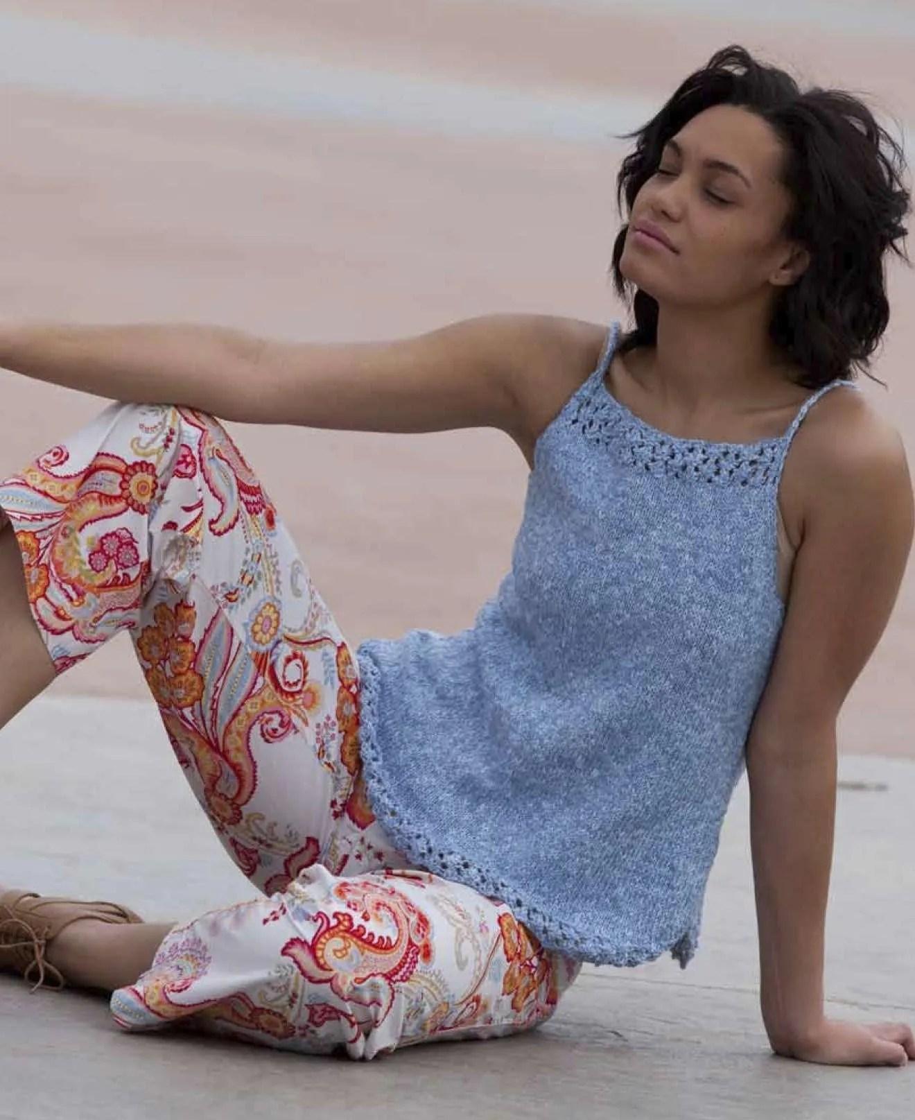 Shirttails - Knitters Summer 2014 Spring Knitting Patterns