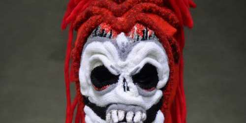Brutal Knitting Skull Mask