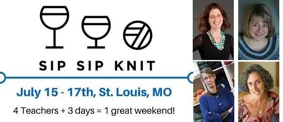 Sip, Sip, Knit Retreat