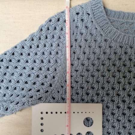 How to measure armhole depth