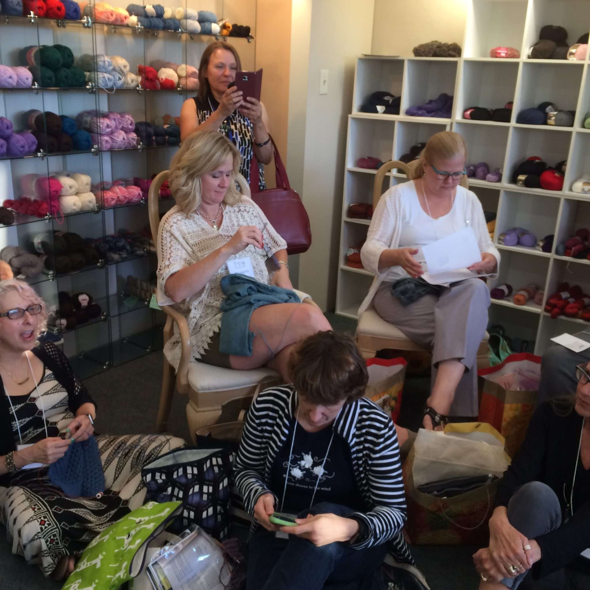 Sip Sip Knit Retreat 2016