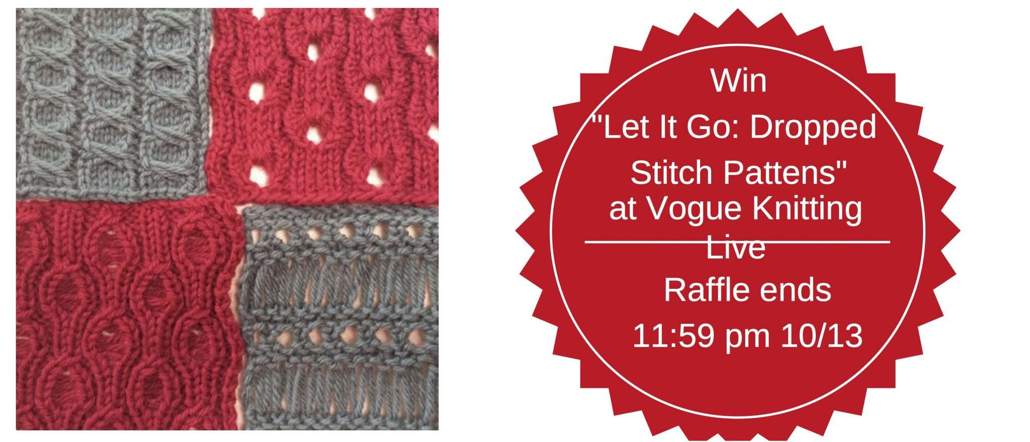 Vogue Knitting Live Class Raffle