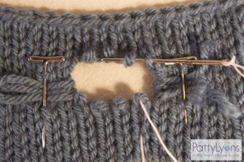 How to Fix a Hole in Knitting