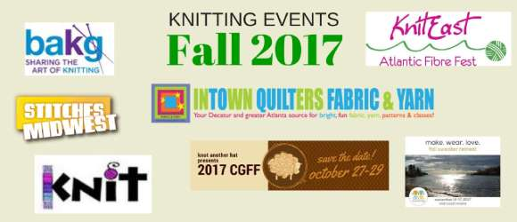Fall Knitting Events 2017