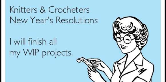 New Years Resolutions for Knitters