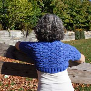 Nesting Diamond Shrug