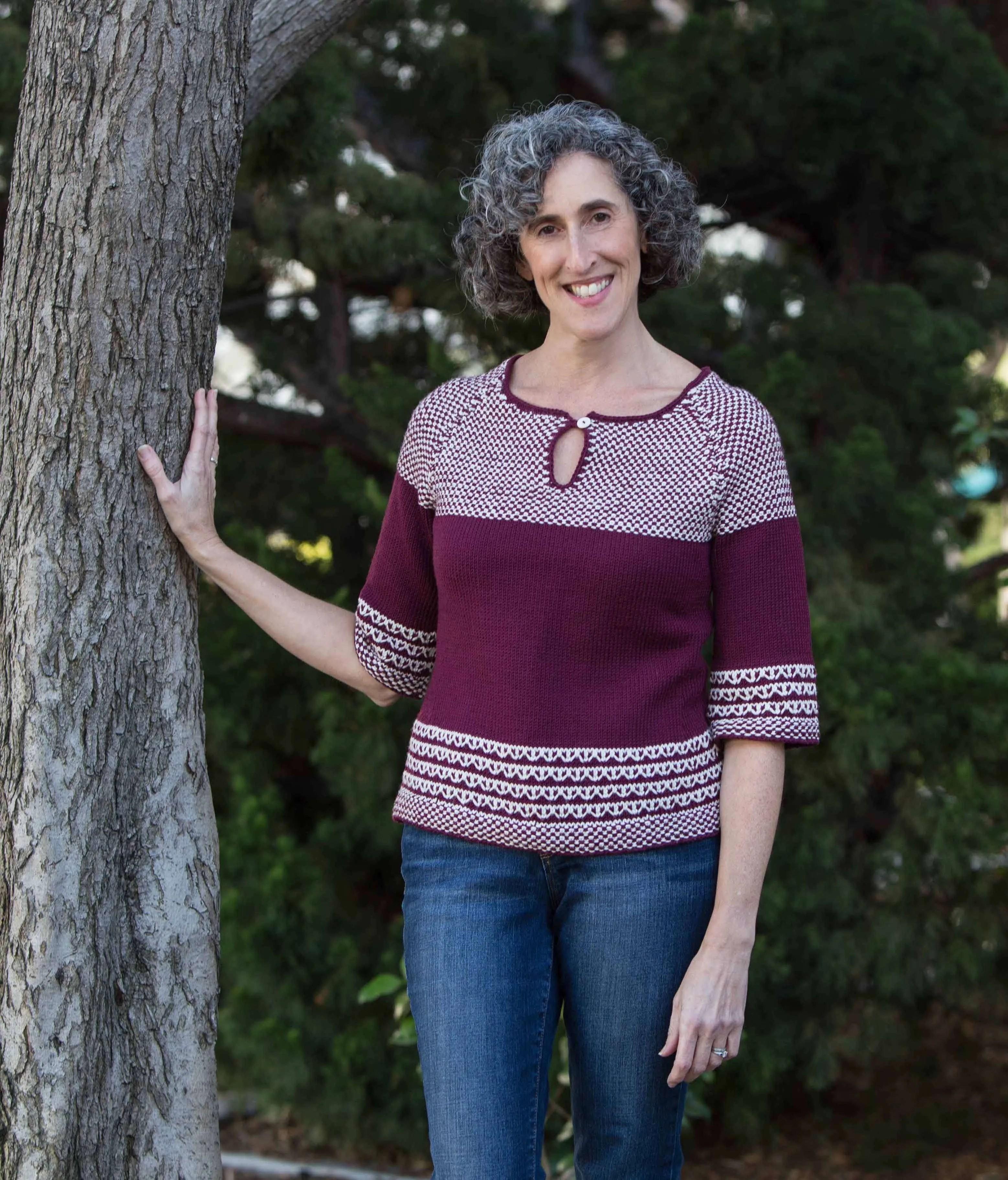 Soho Slip Stitch Video Sweater Class