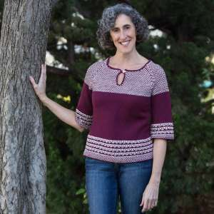 Soho Slip Stitch Video Sweater Class