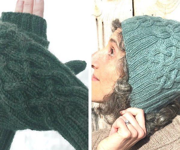 Affiknity Hat & Mitten Set