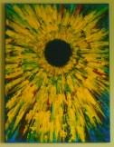 "YELLOW FLOWER            ""18 x ""24"