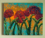 """RED FLOWERS 20"""" x 24"""""""