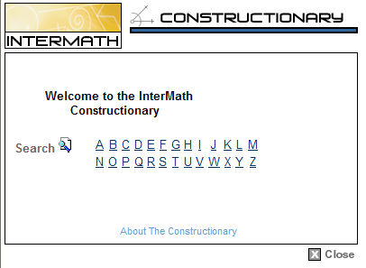 InterMath Constructionary