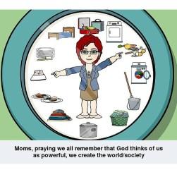 clock mom prayer
