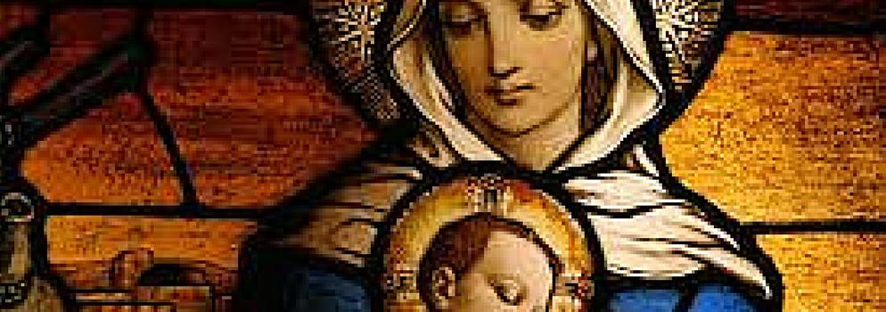 We, like Mary bear, the Divine