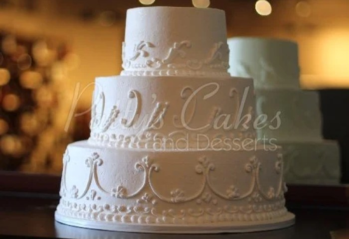 Red Rose Wedding Cakes Archives Pattys Cakes And Desserts