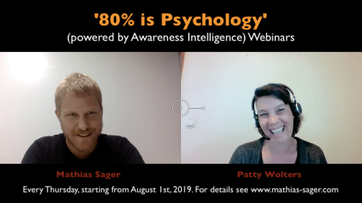 video 80% is Psychology webinars
