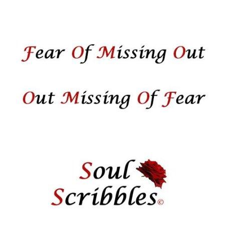 soul scribble FOMO