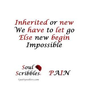 soul scribble pain