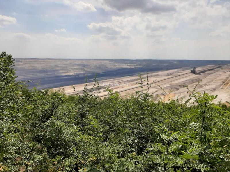 enormous quarry left side