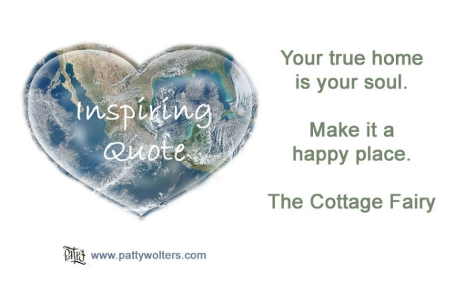 Inspiring Quote by The Cottage Fairy