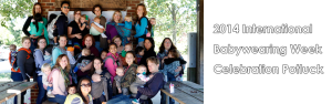 International Babywearing Week 2014 pot luck