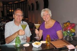 Special cocktails at Martin's Brugge