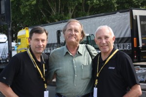 Paul Sherwin, moi and Phil Ligget