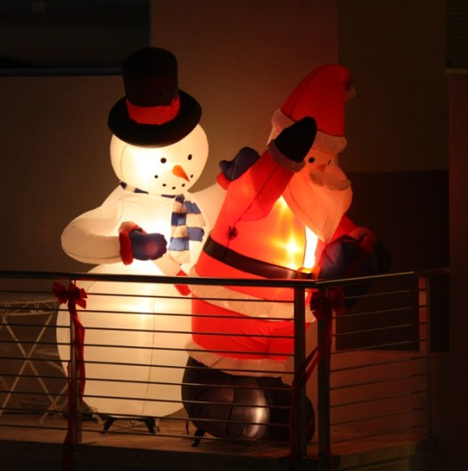 Santa and Frosty Exposed