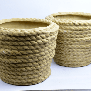 Earthy Rope Pot Big