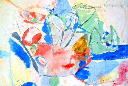 frankenthaler mountain sea paukf abstract expressionism expresionismo abstracto art arte