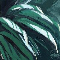 Del verde, los encargos y el lenguaje pictórico
