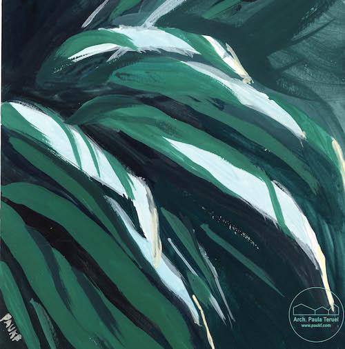 ELVERDE THEGREEN PLANTAS PLANTS VEGETATION VEGETACION ILUSTRACION CACTUS ARTWORK BY PAUKF