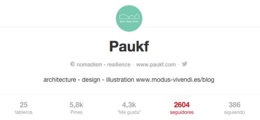 seguidores en PINTEREST paukf influencer followers PAULA TERUEL INFLUENCER