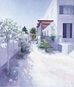 Maria Moreno Artwork Jardin de poniente en Paukf Realismo español Spanish Realism contemporary art arte contemporaneo