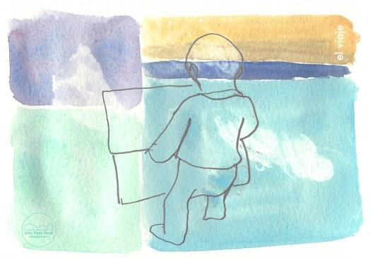 niño composicion niñez bebe baby kid kinder watercolor watercolour aventura 2016
