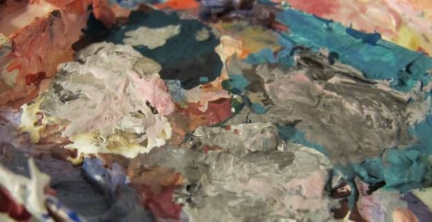 trabajar para otros PALETA paukf colours colores paintings paint pintar pinturas cuadros art arte paula teruel