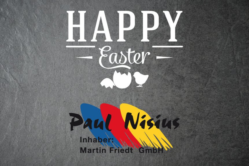 Frohe Ostern Paul Nisius