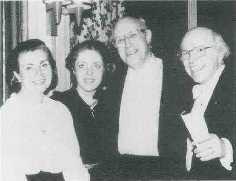 La famille Kuentz et Mstistlav Rostropovitch