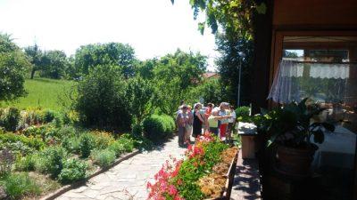 Am Tag des offenen Garten