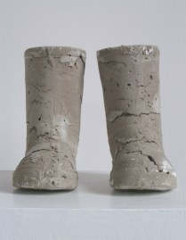 Not Waving But Drowning, 15x15x12cm, concrete (2009)